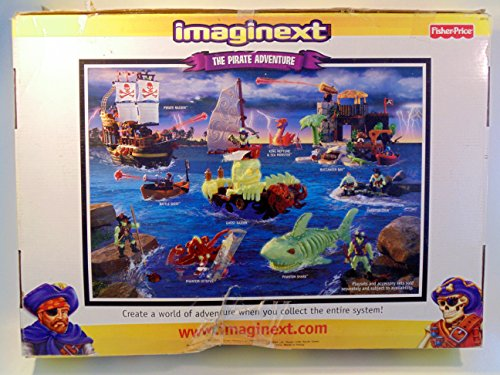 Imaginext Adventures Pirate Ship (Imaginext Phanton Adventure Raider Pirate Ship)