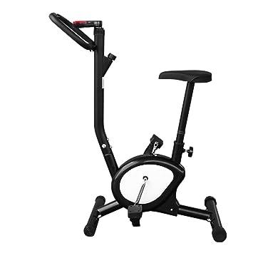 Bicicleta Estática Portátil Fitness para Fácil de Montar y de Desmontar, Ahorra Más Espacio (