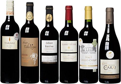 Rotweinpaket Klassiker aus Frankreich (6 x 0.75 l)
