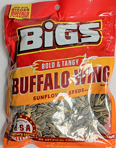 Bigs Bold and Tangy Buffalo Wing Flavored Sunflower Seeds                                                                                                                    ()