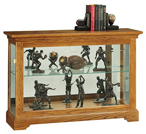 Howard Miller Burrows Curio/Display (Oak Traditional Curio Cabinets)