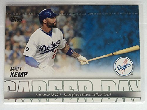 2012 Topps Career Day Career Day CD-21 Matt Kemp NM/M (Near Mint/Mint) (Matt Insert Cd)
