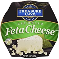 Treasure Cave, Crumbled Feta Cheese, 6.0 oz