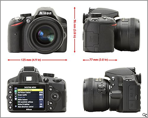 Nikon D3200 24.2MP Digital SLR Camera + 18-105mm VR II: Amazon.in ...