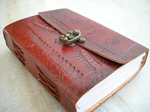 Phoenix Craft Leather Journal 7×5 celtic design Bound handmade diary gift book sketchbook Christmas gifts