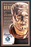 PRO FOOTBALL HALL OF FAME Raymond Berry NFL Signed