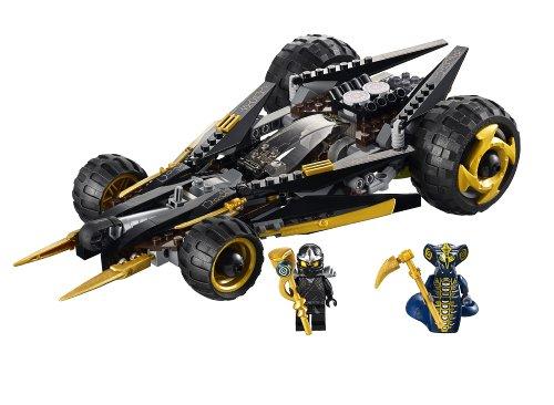 amazoncom lego ninjago coles tread assault 9444 toys games