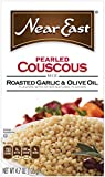Near East  Pearled Couscous, Roasted Garlic & Olive Oil (Pack of 6 Boxes)