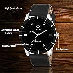 LORENZ Combo of Black Men's Wallet, Sunglasses & Watch | Choose Any one | Brown Wallet, Army Design Wallet, Blue Wallet or Black Wallet
