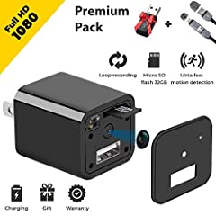 This USB hidden camera charger works without network. It makes its launch incredibly easy! But it also means that you can watch the video only after connecting to the computer or smartphone. This ultra-compact hidden camera does not record so...