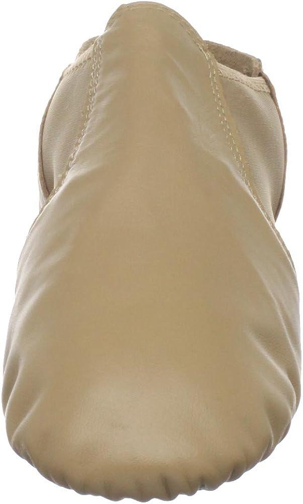 Dance Class Womens GB601 Spandex Gore Jazz Shoe,Caramel,10 M US