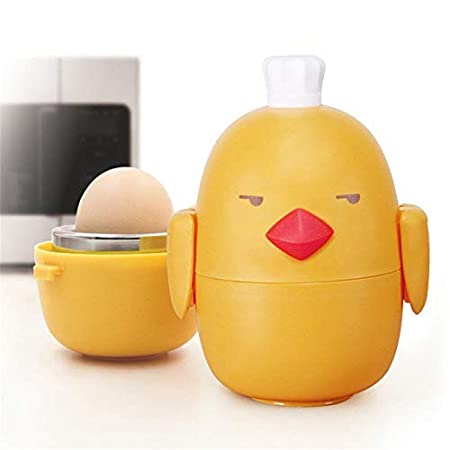 Hylph Cute Kitchen Shape - Cocedor de Huevos para microondas ...
