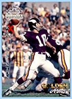 1994 Ted Williams #78 Fran Tarkenton MINNESOTA VIKINGS