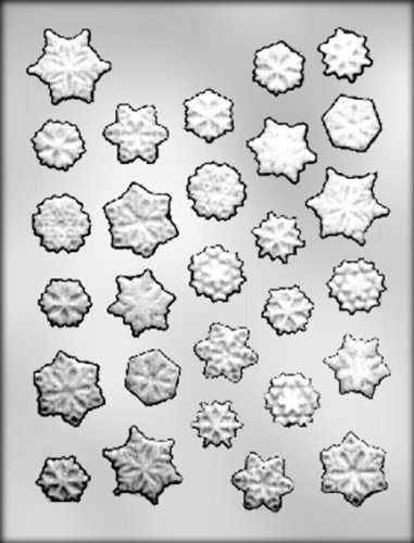 CK Products Snowflakes Assortment Chocolate Mold