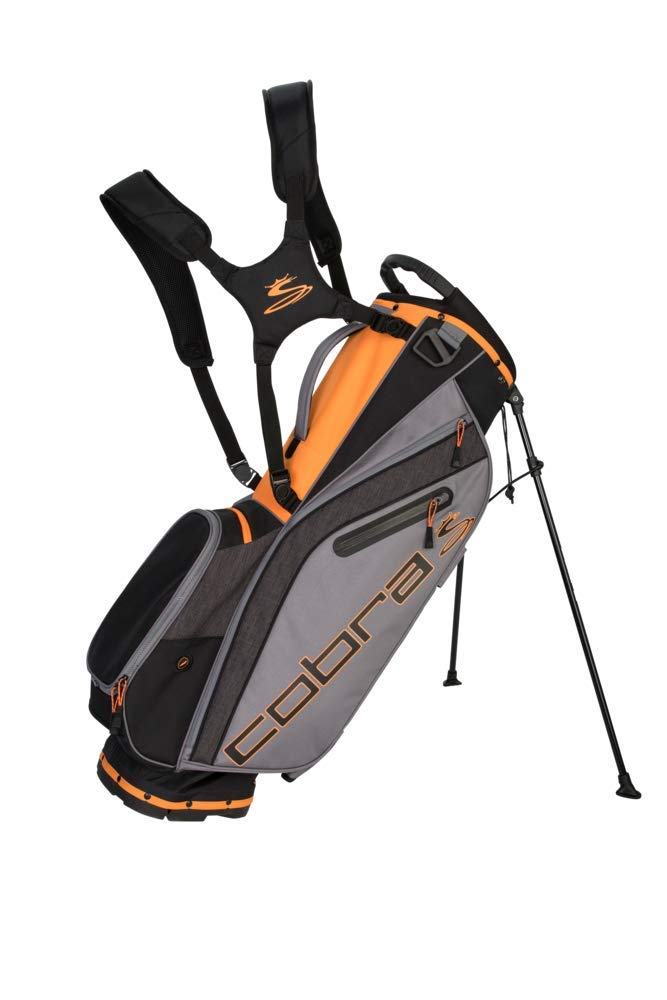 Cobra Golf 2019 Ultralight Stand Bag (Black-Orange) by Cobra