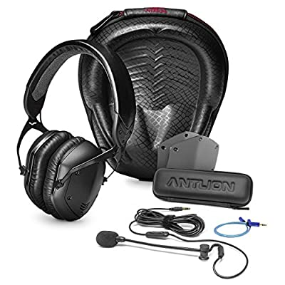 V-Moda Crossfade LP2 Over-Ear Headphones -INCLUDES- Antlion Audio ModMic Attachable Boom Microphone AND Blucoil Y Splitter