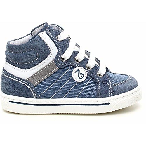 Nero Giardini , {Chaussures premiers pas pour bébé (garçon) bleu avio