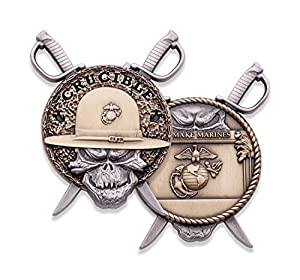 Marine Corps Crucible Challenge Coin - USMC Challenge Coin - Officially Licensed Military Coin - Designed for Marines by Marines! from Coins For Anything Inc