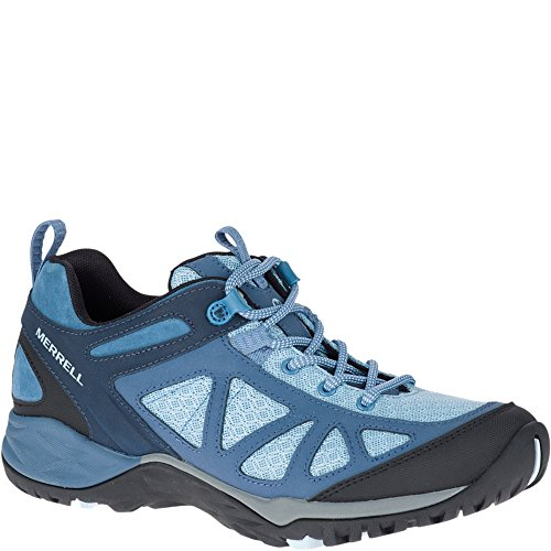 Merrell Women's Siren Sport Q2 Hiking Boot, Blue, 9 Medium US by Merrell