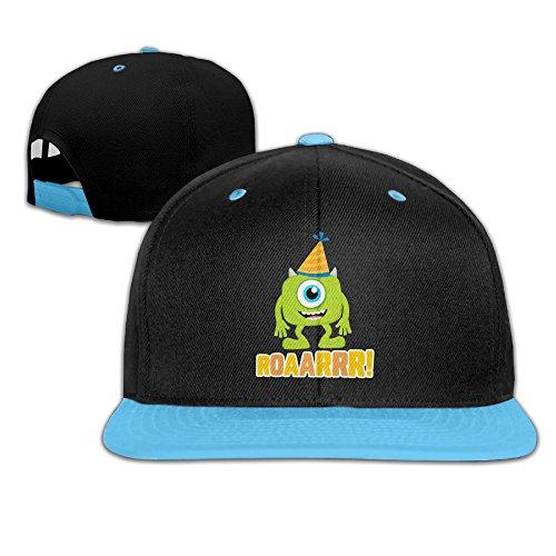 Monsters Inc Roaarrr Custom Unisex Children Hip-hop Baseball Hat Cotton Soft Cute (Googly Bear Monsters Inc)