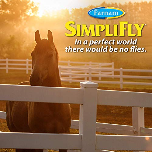 Farnam SimpliFly Feed-Thru Fly Control for Horses, Breaks and Prevents the Fly Life Cycle, 10 pound by Farnam (Image #2)