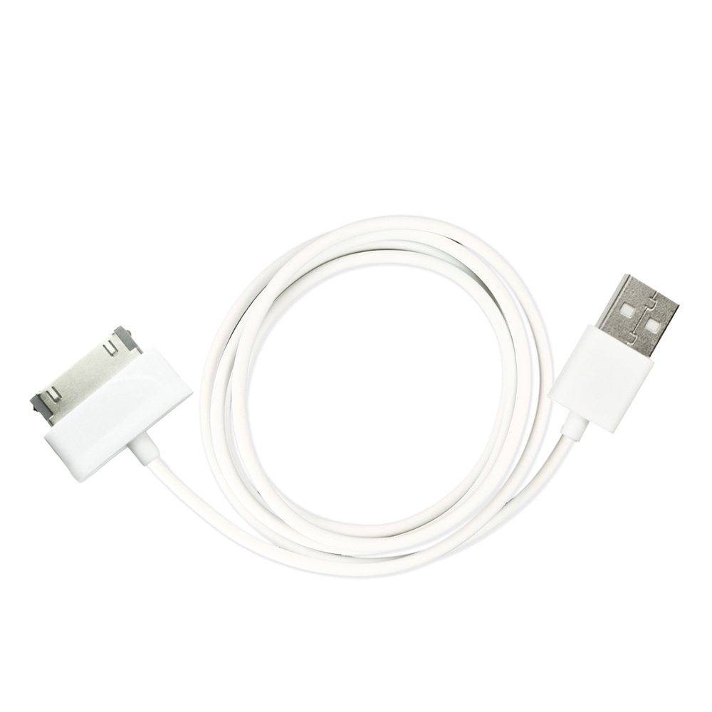 Fenzer White USB Data Sync Charger Cable for Samsung Galaxy Tablet 2 7.0'' Plus 7.7'' 8.9'' 10.1'' 10.1v