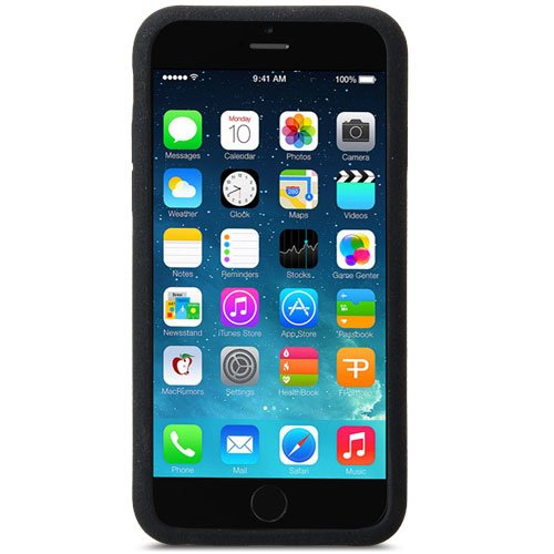 wholesale dealer d23e3 74cc0 Melkco Silikonovy Case for Apple iPhone 6 (5.5 Inch) - Black (APIPL6SIPSIBK)