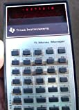 Texas Instruments TI-MONEY MANAGER Vintage LED Calculator
