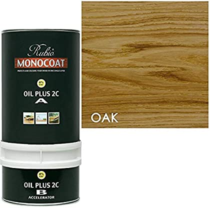 Image of Rubio Monocoat Wood Stain Oil Plus 2C Oak 1.3 Liter Health and Household