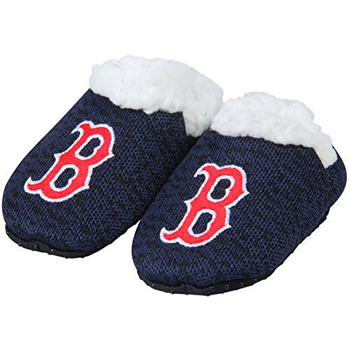 Forever Collectibles FOCO MLB Infant Knit Baby Bootie Shoe (Boston Red Sox, XL (12-18M))