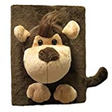 "Flexibuy 4""x6"" Cute 3d Cartoon Animal Monkey Soft Plush Photo Album 48 Pages"