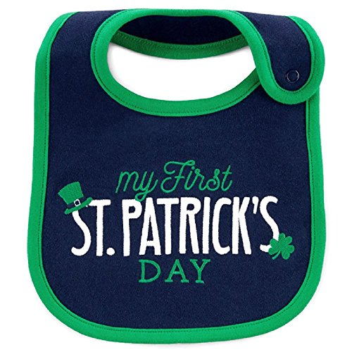 Patricks Day Bib - Just One You by Carters My First St. Patricks Day Teething Bib
