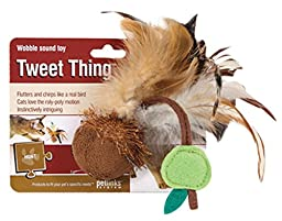 Petlinks Tweet Thing Cat Toy Wobble Sound Toy
