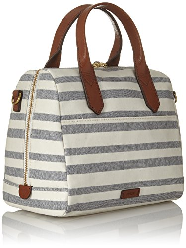 Fiona Multicolore Cartables nbsp; Satchel Stripe Fossil Damentasche Blue AxOwqEUa