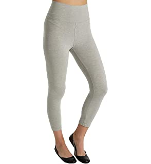 Hard Tail Roll Down Mid-Calf Yoga Legging by Hard Tail