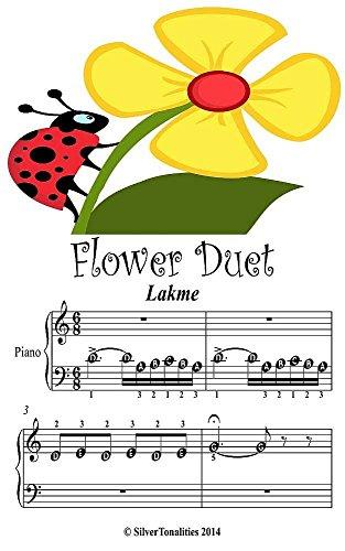 Flower Duet Lakme Beginner Tots Piano Sheet Music (Tote Duet)