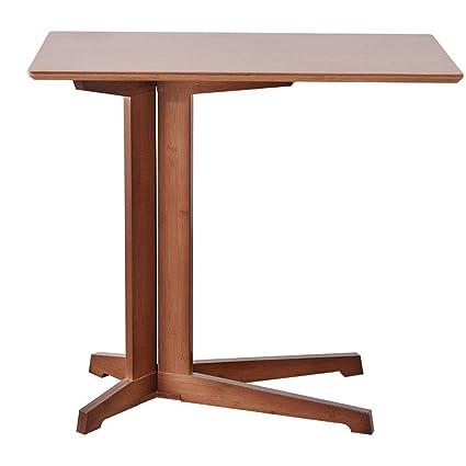 FRF Mesita pequeña- Pequeña Mesa de Centro de bambú Simple ...