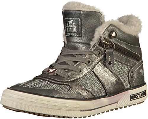 Baskets Mustang 5049 Gris 609 Filles wS4AfYqHx
