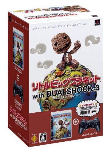 リトルビッグプラネット(DUALSHOCK3クリアブラック同梱版) - PS3 B001HX3KT2