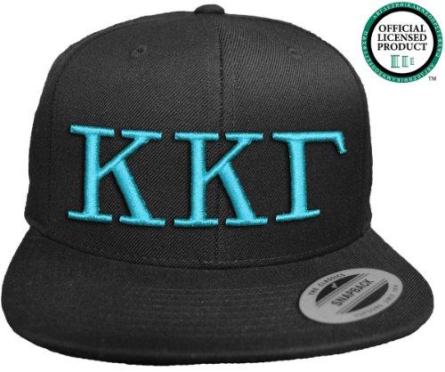 JTshirt.com-19603-KAPPA KAPPA GAMMA Flat Brim Snapback Hat Turquoise Letters / KKG   Kappa   Sorority Cap-B00EVF7VUW-T Shirt Design