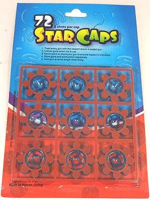 72 Star Caps (Rings Cap)
