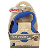 Flexi Durabelt Leash 16 ft – up to 150 lbs in Blue, My Pet Supplies