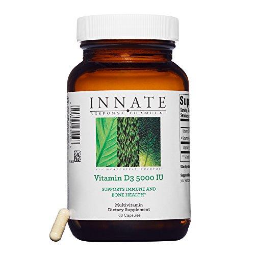 INNATE Response Formulas – Vitamin D3 5,000 IU, Immune System Support, 60 Capsules