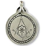 Médaille maçonnique HIRAM et OUROBORUS