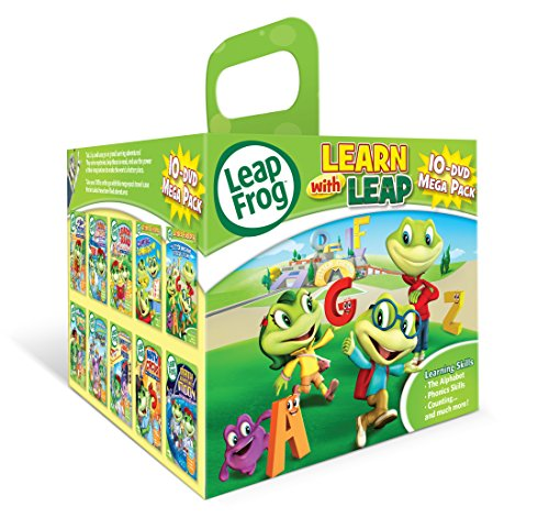 - Leapfrog: Learn with Leap 10-DVD Mega Pack