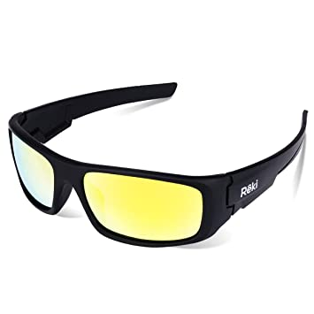 bfea7565ef85 BEST Premium Unisex Polarized RE327 Unbreakable Frame Sports Sunglasses for  Running Baseball Cycling Fishing Volleyball Driving