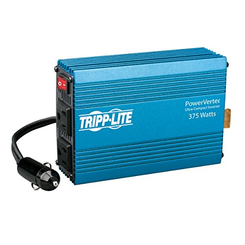 Car Factory Outlet - Tripp Lite 375W Car Power Inverter with 2 Outlets, Auto Inverter, Ultra Compact (PV375)