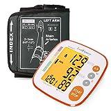 Blood Pressure Monitor by LotFancy, Upper Arm Cuff (8.6-12.6''), Digital Sphygmomanometer, Backlit LCD Display, FDA Approved