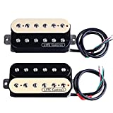 ASCENDAS HZ5 Electric Guitar Humbucker Pickup for Gibson Les Paul Replacement (Neck&Bridge)
