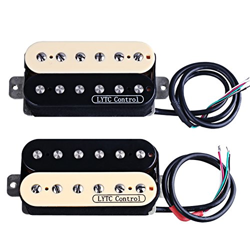 HS2 Electric Guitar Humbucker Pickup for Gibson Les Paul Replacement (Neck&Bridge)